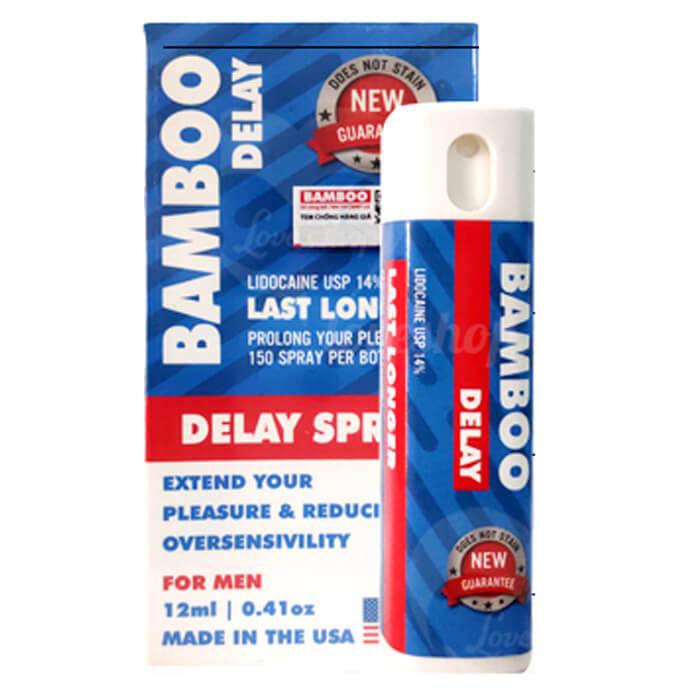 thuoc xit chong xuat tinh som bamboo delay spray usa 12ml anh 1