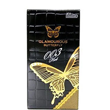 Bao cao su Jex Glamourous Butterfly 0.03 Hot Hộp 12 chiếc Nhật Bản